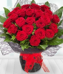 Two Dozen red Roses*