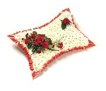 Based Pillow Red and White